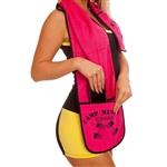 Gym Towel Zipper Pocket Towel