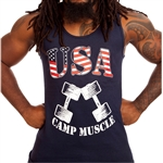 Camp Muscle USA Tank Top