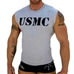 Men's Military Sleeveless T-Shirt ARMY NAVY USAF USMC