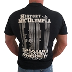 2018 History of Mr. Olympia is in the books. All new History Of Mr. Olympia T-Shirt.