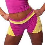 You'll love Camp Muscle's premium line of Women's Supplex® clothing is proudly manufactured in the USA and we use only the best Supplex® fabric available.  Women's  Supplex® Fitness Shorts