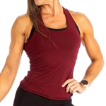 Camp Muscle's tight and stretchy Extreme Razor Tank for her!   Fitted with stretchy 90% Cotton/10% Lycra fabric.