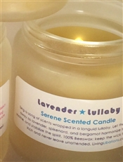 Living Libation Lavender Lullaby Serene Scented Candle