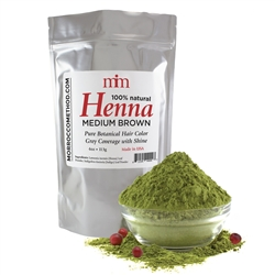 Henna Hair Dye - Medium Brown