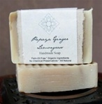Raw Vegan Soap - Papaya Ginger Lemongrass