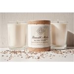Insight - Ginger Lemongrass Natural Wood Soy Candle