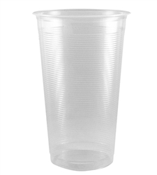 24oz PP AO/Flat Rim Ribbed Cold Cups (95mm) - 1,000 ct