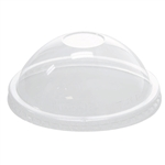 PET DOME CLEAR LIDS FOR 16oz HOT/COLD FOOD CONTAINER/YOGURT PAPER CUP 116mm 20*50 SLEEVES 1000 PCS