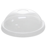 PET DOME CLEAR LIDS FOR 20oz HOT/COLD FOOD CONTAINER/YOGURT PAPER CUP 130mm 12*50 SLEEVES 600 PCS