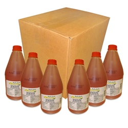 1 CASE OF BOBA LOCA® PEACH SYRUP, 5.5 lbs (2.5kg), 6BT