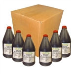 CASE OF BOBA LOCA® RASPBERRY SYRUP, 5.5 lbs (2.5kg), 6 BOTTLES/CASE