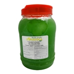 BOBA LOCA® GREEN APPLE FLAVORED JELLY, 8.8 lbs (4kg) JAR