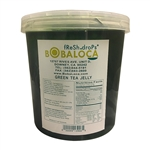 BOBA LOCA® GREEN TEA JELLY, 7.3 lbs (3.3kg) JAR