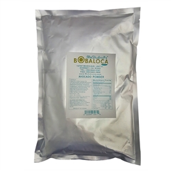 BOBA LOCA® AVOCADO FLAVOR POWDER 1Kg