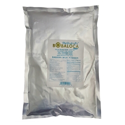 BOBA LOCA® BANANA MILK POWDER, 2.2 lbs (1kg) BAG