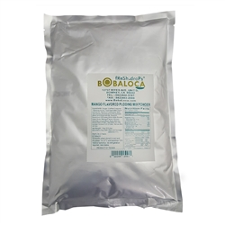 BOBA LOCA® MANGO PUDDING MIX, 2.2 lbs (1kg) BAG