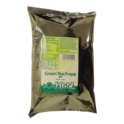 BOBA LOCA® GREEN TEA FRAPP MIX, 4 lbs (1.81kg) BAG