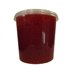 CHERRY BURSTING BOBA, Net Wt. 7.04lbs (3.2kg)  JAR