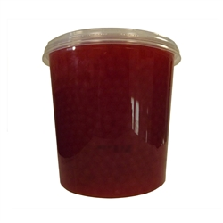BOBA LOCA® CHERRY BURSTING BOBA, Net Wt. 7.04lbs (3.2kg)  JAR