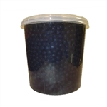 BLUEBERRY BURSTING BOBA Net Wt. 7.04lbs 3.2kg  JAR