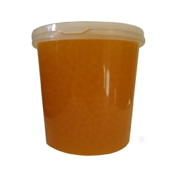 MANGO BURSTING BOBA, Net Wt. 7.04lbs (3.2kg)  JAR