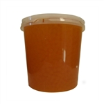 PEACH BURSTING BOBA, Net Wt. 7.04lbs (3.2kg)  JAR