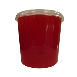 BOBA LOCA® STRAWBERRY BURSTING BOBA, Net Wt. 7.04lbs JAR