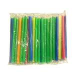 BOBA LARGE STRAWS, 100pcs /BAG