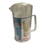"CAMBRO POLYCARBONATE ""CLEAR"" PITCHER, 64 OZ (1.9L)"