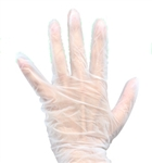 100 VINYL POWDER-FREE GLOVES - MEDIUM