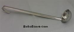 "1oz. (30cc) LADLE SCOOP 11""  LONG, STAINLESS STEEL"