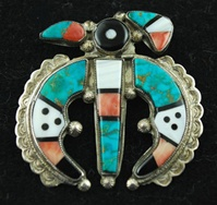 TEDDY WEAHKEE-THUNDERBIRD PIN
