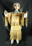 VINTAGE APACHE DOLL BY KAY BENNETT