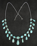 LOVELY AND UNIQUE #8 TURQUOISE NECKLACE