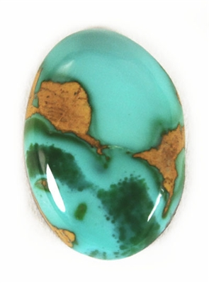 NATURAL ROYSTON TURQUOISE CABOCHON