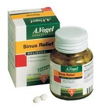 A Vogel Homeopathic Sinus Relief, 120 tabs