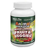 Animal Parade Fruit & Veggies Chewables