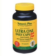 Nature's Plus Ultra One Daily Caps - Iron Free