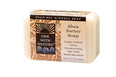 One With Nature Shea Butter Soap Bar