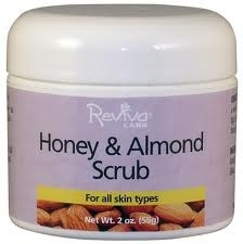 Reviva Honey and Almond Scrub - 2 oz.