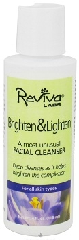 Reviva Brighten and Lighten Facial Cleanser - 4 oz.