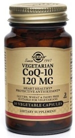 Solgar Vegetarian CoQ-10 120mg Vegicaps