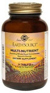 Solgar Earth Source Multi Nutrient 90 Tablets