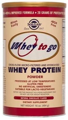 Solgar Whey to Go Protein Powder