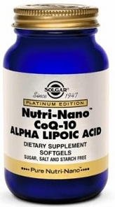 Solgar Nutri Nano CoQ-10 with Alpha Lipoic Acid