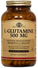Solgar L-Glutamine 500 mg Vegicaps