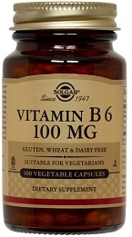 Solgar Vitamin B6 100 mg - 100 vegicaps