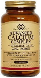 Solgar Advanced Calcium Complex - 120 Tablets