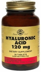 Solgar Hyaluronic Acid 120 mg 30 Tabs