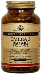 Solgar Triple Strength Omega-3 950 mg